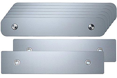 TEC iConnect Set für Österreich - Set PKW 1-zeilig 3 Fahrzeuge - Kennzeichenhalter Wechselsystem/Wechselkennzeichen