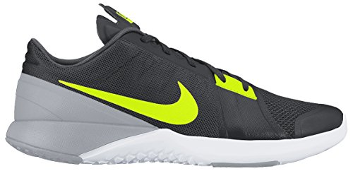 Nike FS Lite Trainer 3, Bottes Classiques homme Multicolore - Gris / Lima (Anthracite/Vlt-Wlf Gry-Drk Gry)