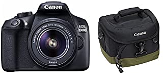 "Canon EOS 1300D Cámara digital, pantalla LCD de 3"" (B01F8RDFII) 