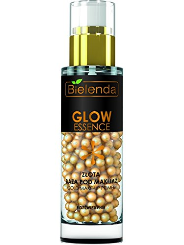 BIELENDA GLOW Gold aufhellung Make Up Basis Base müde Haut 30g