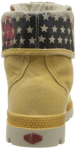 Palladium Baggy Kid Flag, Unisex - Kinder Stiefel & Stiefeletten Gelb - Jaune (632 Mustard)