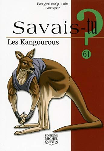 Savais-tu - numéro 61 Les kangourous par Alain m Bergeron