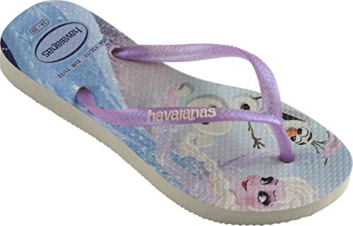 Havaianas Kids Slim Frozen Zehensandale white - 37/38