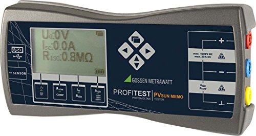 GMC-I Messtechnik Prüfgerät-Set f. PV-Module PROFIT.PVSUNMEMOPack m. integr. Speicher Zubehör für regenerative Energieerzeugung - Gmc-modul