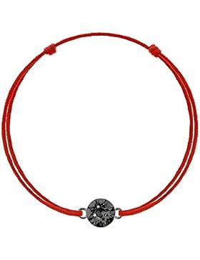 Kabbala Unisexarmband Glücksarmband Rote Schnur Damen Herren Kinder Geschenk