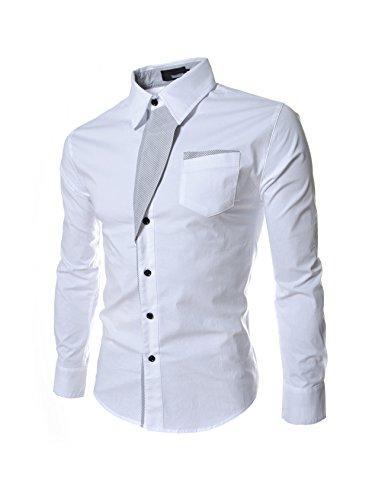 Letuwj Herren Hemd Slim Fit Business Freizeit Slim Fit Super Modern super Qualität