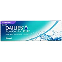 Dailies AquaComfort Plus Multifocal Tageslinsen weich, 30 Stück / BC 8.7 mm / DIA 14 / ADD MED / +1.25 Dioptrien