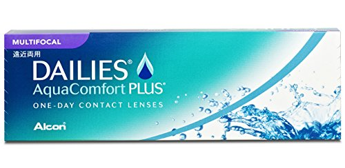 Dailies AquaComfort Plus Multifocal Tageslinsen weich, 30 Stück / BC 8.7 mm / DIA 14 / ADD LOW / -2 Dioptrien