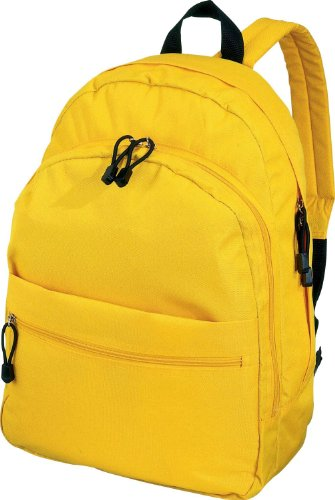 Euro Trend Fashion Backpack Rucksack in 13 Colours (Yellow)