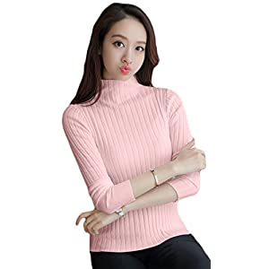 SDK Latest Collection for Girls Western high Neck Casual T-Shirt for Women and Girls Plain Full Sleeve Pure Cotton Tops (SDKW_003.9)