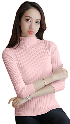 LATEST COLLECTION 2018 100% COTTON PLAIN PINK FULL SLEEVE T-SHIRT CASUAL PARTY...
