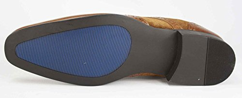 Red Tape richelieu à lacets Smart Casual Chaussures en cuir marron bleu marine Brun Clair en daim noir Brown / Brown