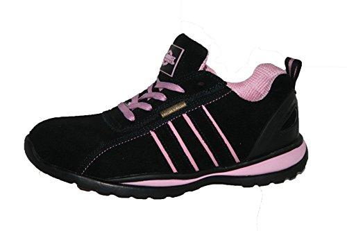OTTAWA , Chaussures de sécurité pour femme Rose