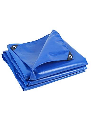DLewiee Multi-Purpose Wasserdicht UV-beständig Poly Tarp Cover mit Ösen für Zelte, Camping Shelter Plane, Wind Protektoren, Garten und Möbel Farbe Blau (Size : 4m*3m) - Multi Purpose Leinwand