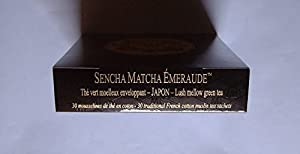 Mariage Frères - SENCHA MATCHA ÉMERAUDE (NOUVEAU!!) - Boîte de 30 sachets mousseline de thé