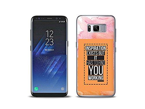 etuo Samsung Galaxy S8 Plus - Hülle, Silikon, Gummi Schutzhülle - Inspiration