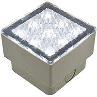 Mattonella LED bianco, 0,8W, 80x80