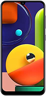 Samsung Galaxy A50s (Prism Crush Black, 4GB RAM, 128GB Storage) with No Cost EMI/Additional Exchange Offers