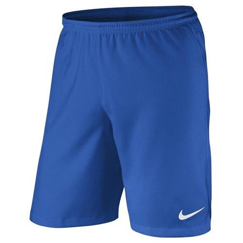 Nike–Pantaloncini da uomo Laser II Woven NB Royal Blue/Bianco