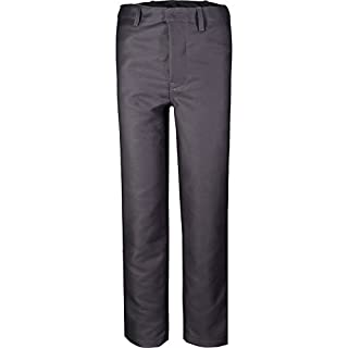 Asatex KS64HO03 Proban Trousers with Roundly Formed Waistband, Grey, Size 64