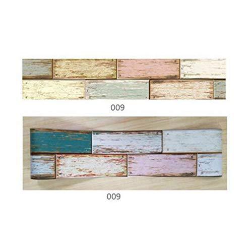 EgBert 1 Stücke Selbstklebende Fliese Kunst Wandtattoo Aufkleber DIY Küche Badezimmer Dekor Viny Floor Decor Aufkleber - 009