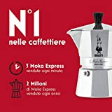 Bialetti Moka Express Espresso Maker, makes 6 Cup