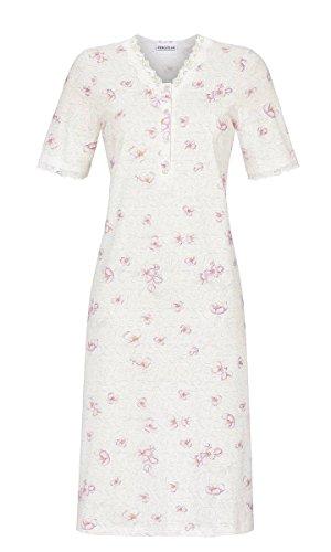 Ringella Damen Nachthemd mit Knopfleiste Off-White 36 9211065, Off-White, 36