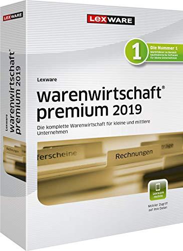 Lexware warenwirtschaft premium 2019|Minibox (Jahreslizenz)|Effizientes Warenwirtschaftssystem für eine organisierte Datenverwaltung für Kleinunternehmer|Kompatibel mit Windows 7 oder aktueller