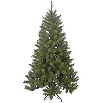 Black Box Trees 1002222-02 Künstlicher Weihnachtsbaum Delmonto Höhe 185 cm Durchmesser 114 am, 715 Zweige, PVC Hart und Weichnadel, Spitzen geeist