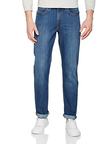 Lee Herren Jeans Brooklyn Straight Blau (True Blue Hj)