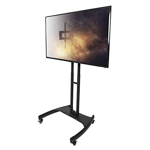 Plasma-flachbildschirm-tv-ständer (Kanto MTM65 TV Standfuß / TV Ständer mit Rollen für 37 - 65 Zoll Flachbildschirm TV)