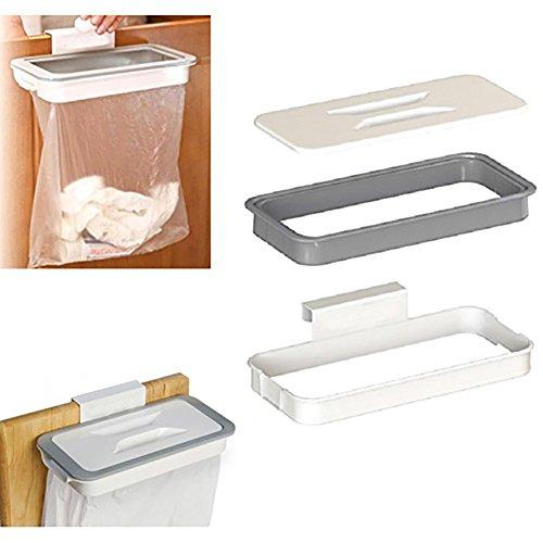 Mülleimer für den Schrank, Tür, Mülleimer,  Hängeaufbewahrung, Mülleimer, Korb, Hängekorb, tragbar, mit Deckel