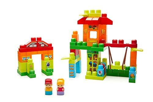 Mega Bloks Casita en el árbol, juguete de construcción para bebé +1 año (Mattel FFG24)