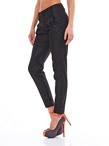 Only Lala Classik Chino Pant 15097798 schwarz Abbildung 3