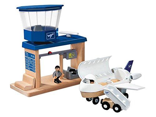 PlayTive Junior Flughafen Spielspaß für kleine Piloten 18-teilig