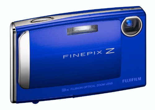fd Digitalkamera (7 Megapixel, 3-fach opt. Zoom, 6,4 cm (2,5 Zoll) Display) azurblau-metallic ()