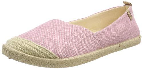 Roxy Damen Flora Espadrilles, Pink (Blush Bsh), 37 EU