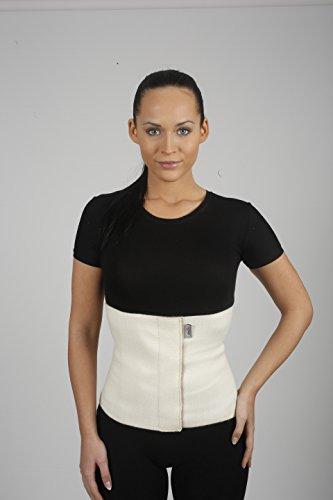 ArmoLine Wolle Rückenwärmer, Nierenwärmer, Wärmegürtel, Leibwärmer für Damen und Herren (XL)