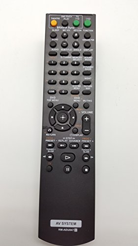 Fox Micro Remote Control for Sony Rm Adu-047 Dav Hdx-275-Dva Hdx-475-Hcd Hdz273-Dvd Home Theater System -(Color May Very)