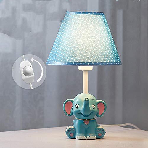 Cumpleaños infantil nórdico romántico dormitorio creativo lámpara infantil elefante lámpara de noche lindo cumpleaños infantil @ 2