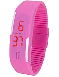 Jack Klein Silicone Strap Digital Wrist Watch For Men, Women