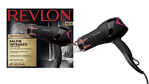 rvdr5105 - 41tItiV5juL - REVLON Pro RVDR5105 Collection Salon Infrared Hair Dryer