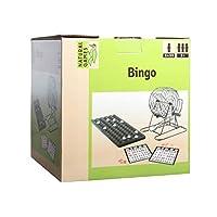 VEDES-Grohandel-0061058834-Natural-Games-Bingo-mit-Metallkorb