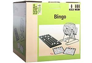 VEDES Großhandel GmbH - Ware Natural Games Bingo con Cesta de Metal