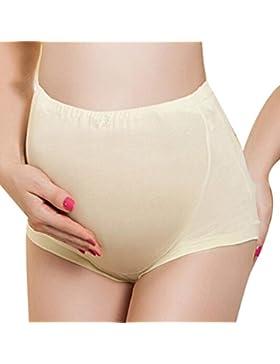 TenYid Morbida Comoda Regolabile Model Donna Mutande Premaman Mutandine Gestante Slip Senza Cuciture