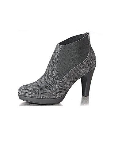 Marion Spath , chaussures compensées femme Gris - Gris
