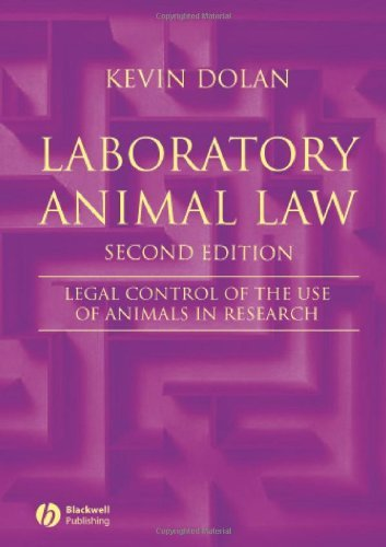 Laboratory Animal Law: Legal Control of the Use of Animals in Research by Kevin Dolan (24-May-2007) Paperback