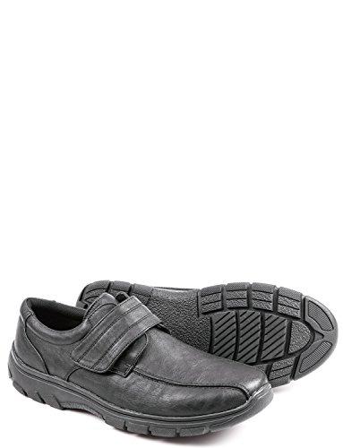 Mens Cushion Walk Touch Fasten Shoe