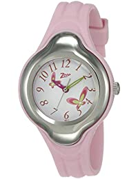 Zoop Analog White Dial Children's Watch -NKC2001PP03