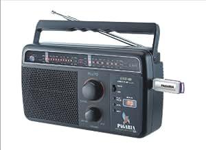 PAGARIA 5 BAND RADIO WITH USB